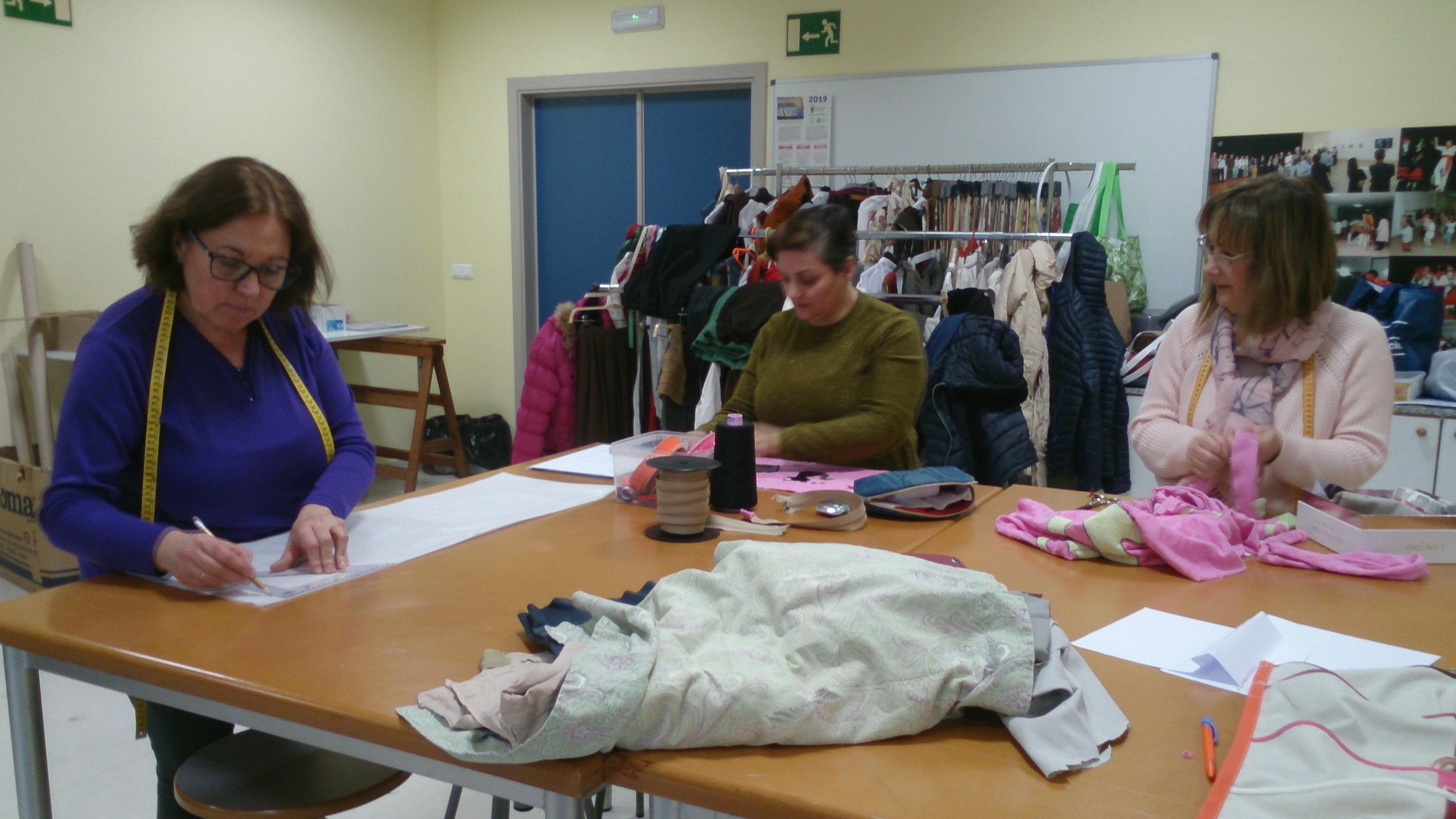 Aprende a coser y recicla