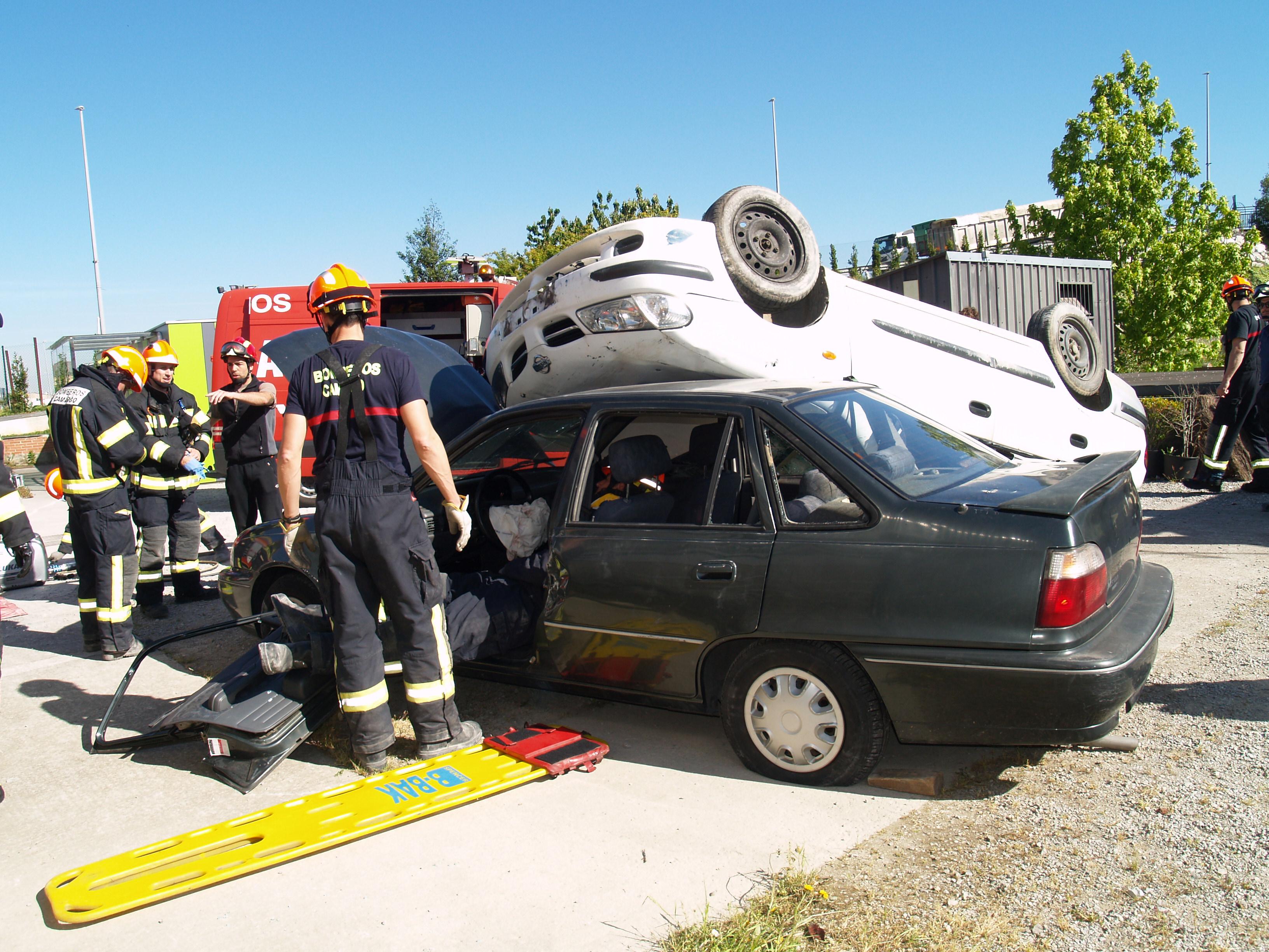 Curso de iniciación de bomberos de nuevo ingreso