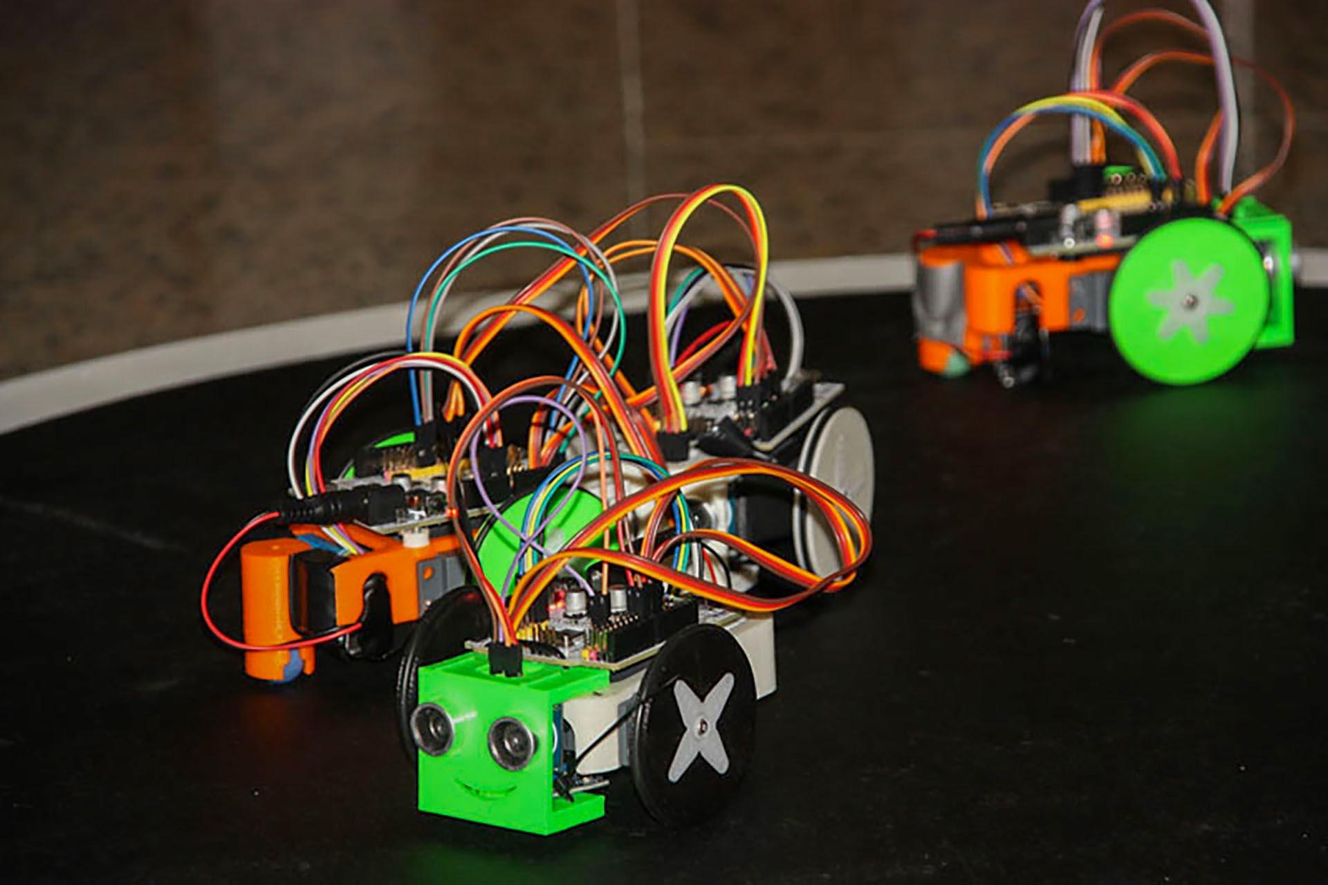 Robótica, Arduino e impresoras 3D